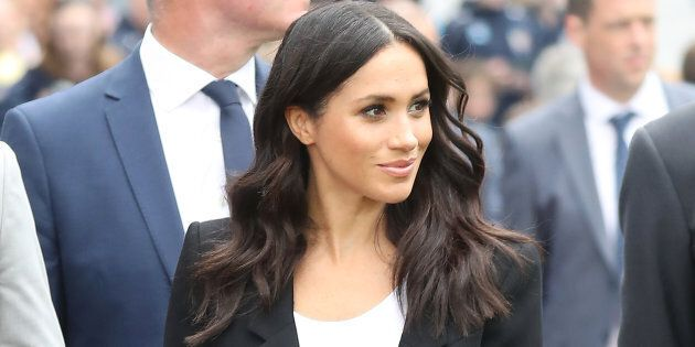 The Duchess of Sussex visits Croke Park during her royal visit to Ireland on July 11, 2018.