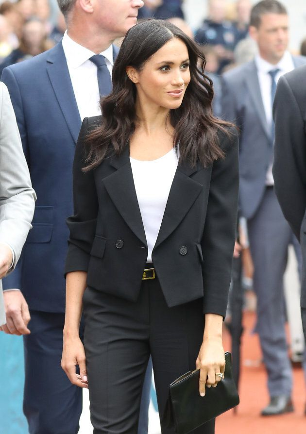 The Duchess of Sussex at Croke Park.