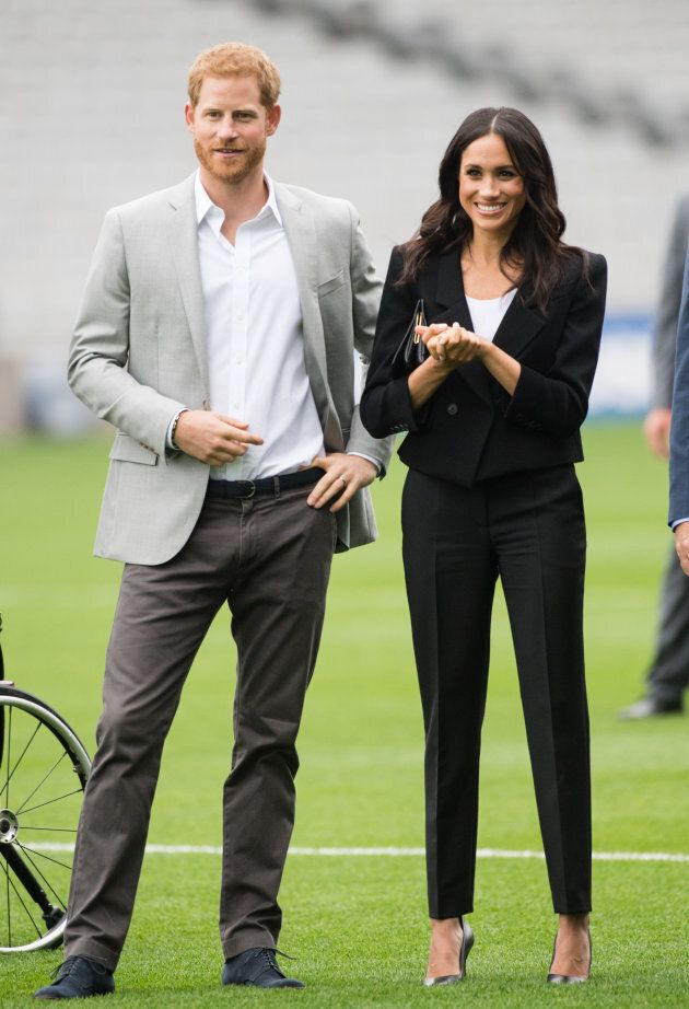 The Duke and Duchess of Sussex visit Croke Park.