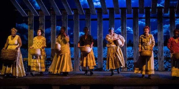Robert Lepage's SLAV, A Play With A Mostly White Cast Singing Slave Songs, To Run Across