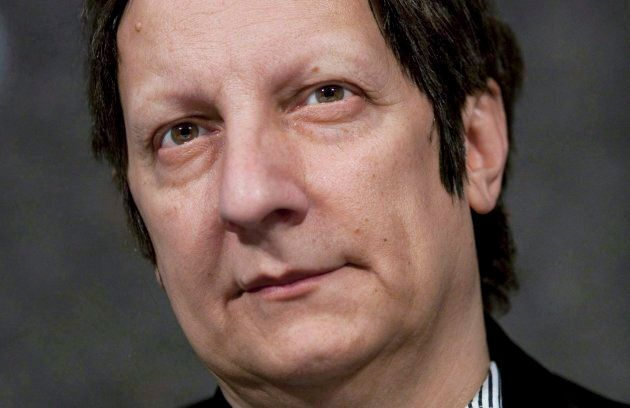 Canadian playwright, actor, film director and stage director Robert Lepage, of Quebec City, speaks to...