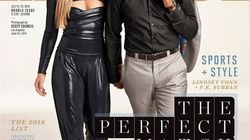 New Couple P.K. Subban And Lindsey Vonn Stun On The Cover Of Sports