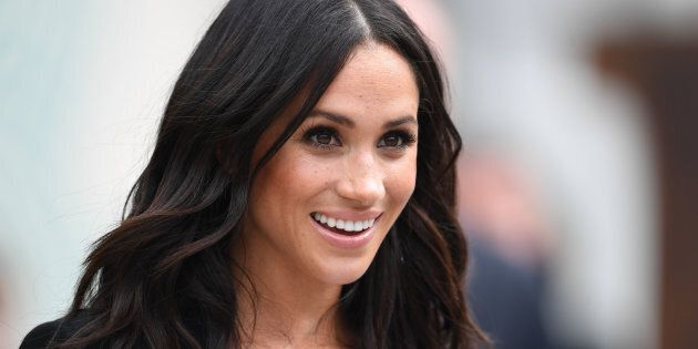 The Duchess of Sussex during her visit to Dublin,