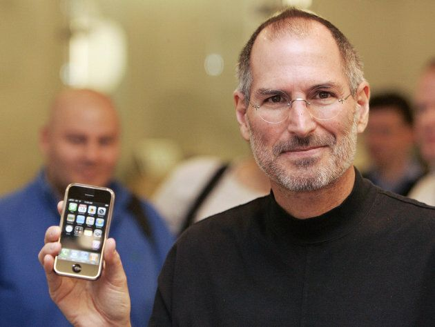 Chief Executive Officer of Apple, Steve Jobs attends a press conference in central London on Sept. 18, 2007.