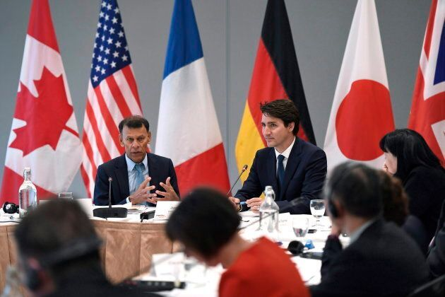 Canadian Labour Congress president Hassan Yussuff, left, said he doesn't know why the federal government...