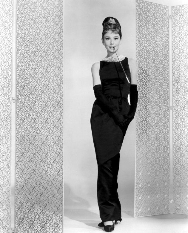 Audrey Hepburn in Givenchy in Breakfast at