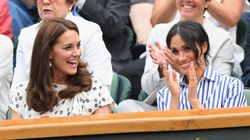 Duchess Duo Kate And Meghan Get Their Tennis Claps On At