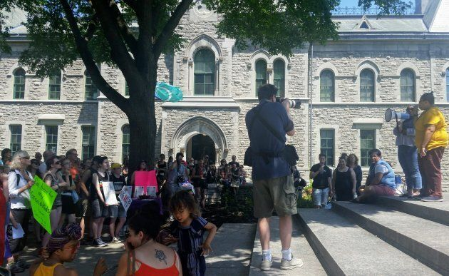 Protesters In Ottawa Rally To Save Sex Ed Curriculum From Doug Ford's