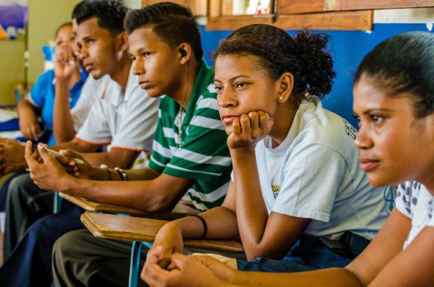 Every week, a group of teenagers in Nicaragua get to together to have frank, open discussions about sexual...