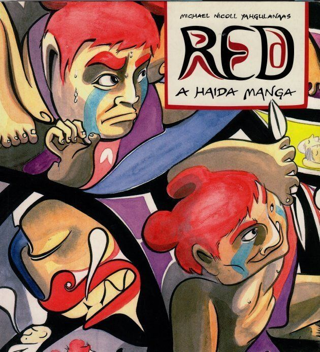 """The cover of """"Red."""""""