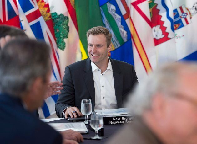 New Brunswick Premier Brian Gallant hosts the Canadian premiers meeting in St. Andrews, N.B. on July...