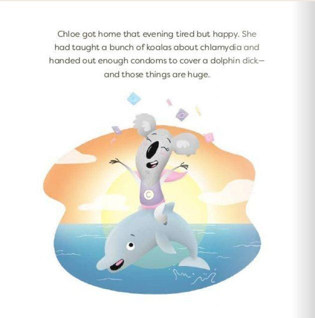 'Chloe Has Chlamydia' Uses A Koala To Teach Sex Ed To