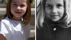 Princess Charlotte's Resemblance To Young Princess Di Is