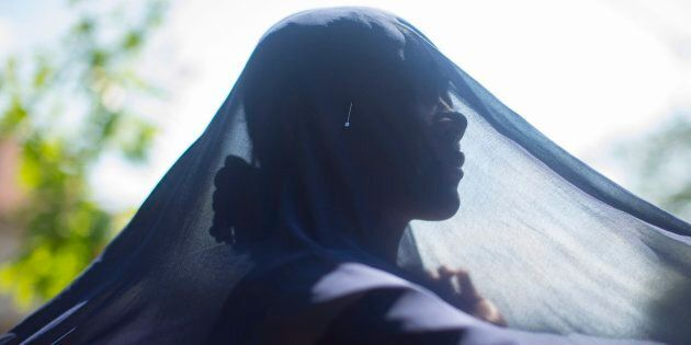 Hunaina, a Somali-Kenyan refugee who came to Canada with her sister and two younger brothers, is pictured...