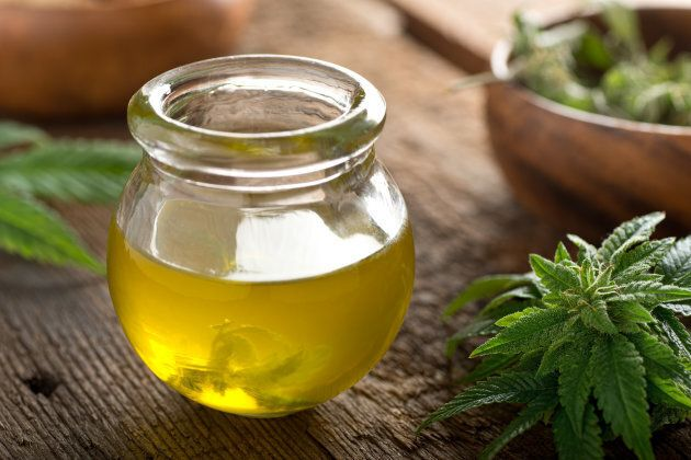 Cannabis oil, of the type that's added to