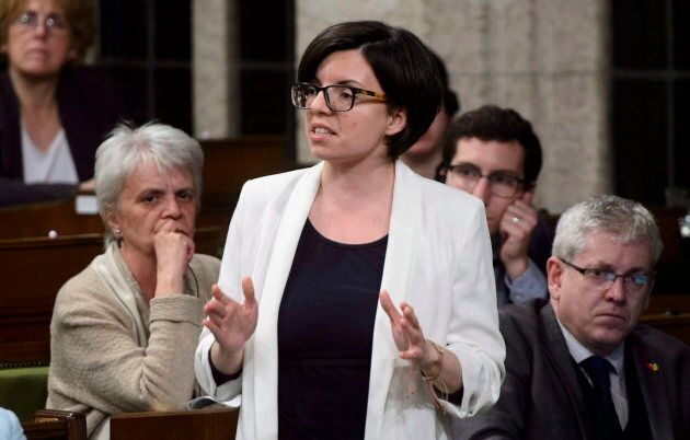 NDP MP Niki Ashton stands during question period in the House of Commons on Parliament Hill in Ottawa on April 26, 2018.
