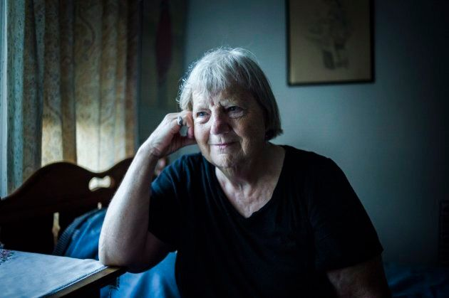 Elizabeth Hill poses for a portrait in her home in Toronto, on July 20, 2018.