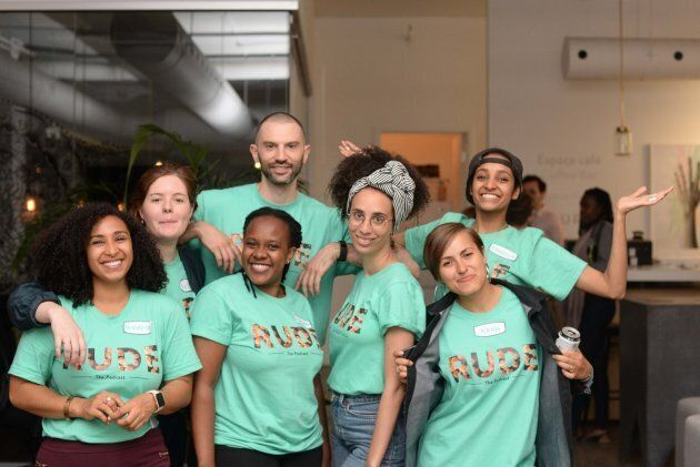 The team behind RUDE: The