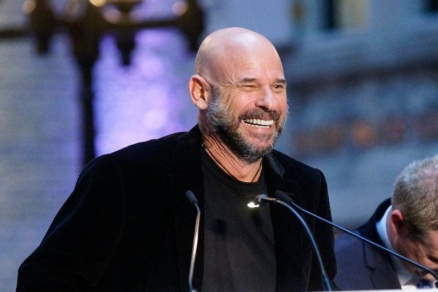 Cirque du Soleil founder Guy Laliberte at a press conference in Montreal, Que., Feb. 23, 2017. Laliberta...