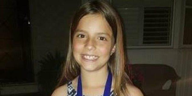 Julianna Kozis, 10, was killed in a mass shooting in Toronto's Greektown neighbourhood on July 22.