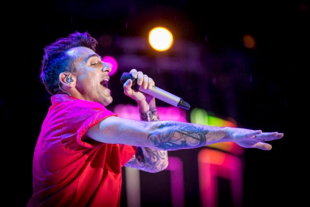 Jacob Hoggard performs at We Day Canada on July 2, 2017 in