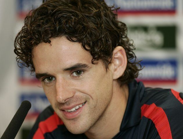 Owen Hargreaves during the press conference on Aug. 14,