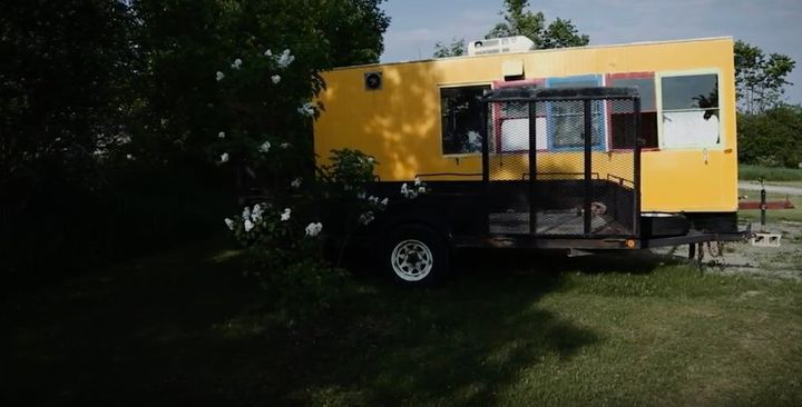 The Seguras plan to fix up this food truck and serve Fresh FueLL food to festival-goers next summer.