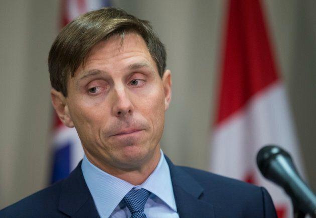 Former Ontario PC leader Patrick