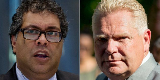 Calgary Mayor Naheed Nenshi says Ontario Premier Doug Ford's plan to cut down the number of city councillors...