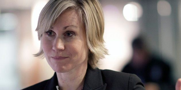 Jennifer Keesmaat is seen at Toronto City Hall in