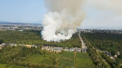 Firefighters In Vancouver Suburb Face Unusual Challenge: Fire Burning