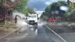 Ottawa Driver Fired After Video Shows Van Drenching
