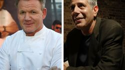 Anthony Bourdain Fans Have Beef With Upcoming Gordon Ramsay