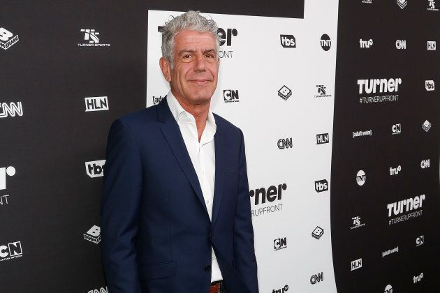 Anthony Bourdain attends Madison Square Garden on May 18,