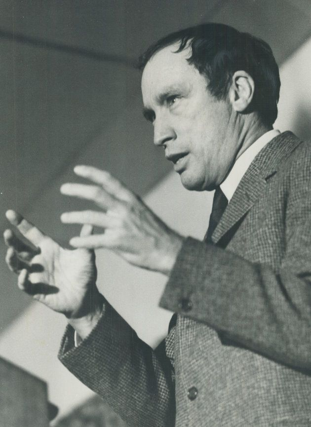 Pierre Elliott Trudeau during the 1968 Liberal leadership campaign