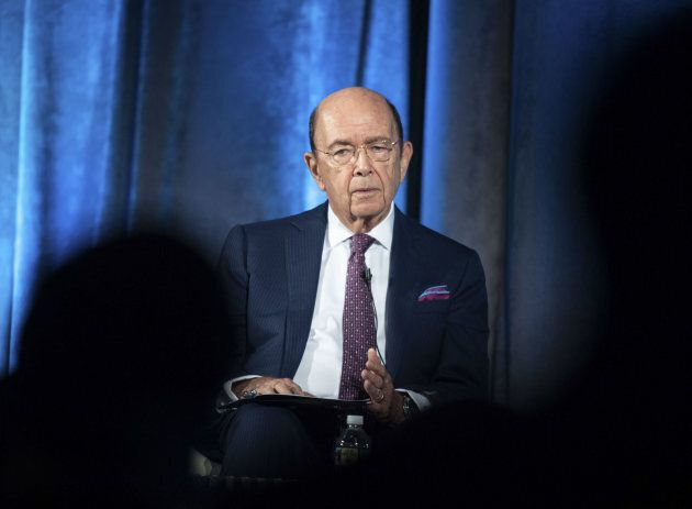 US Commerce Secretary Wilbur Ross addresses the Indo-Pacific Business Forum at the U.S. Chamber of Commerce...
