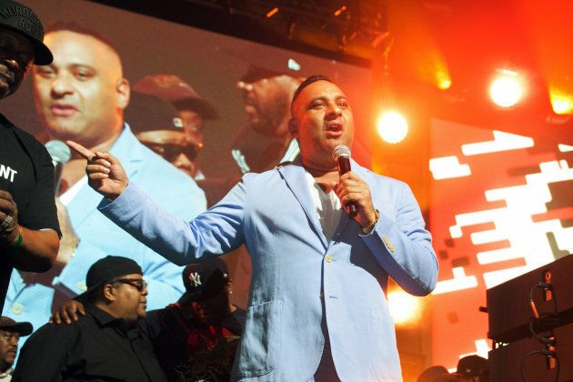 Russell Peters appears onstage at the YO! MTV Raps 30th Anniversary Live Event.