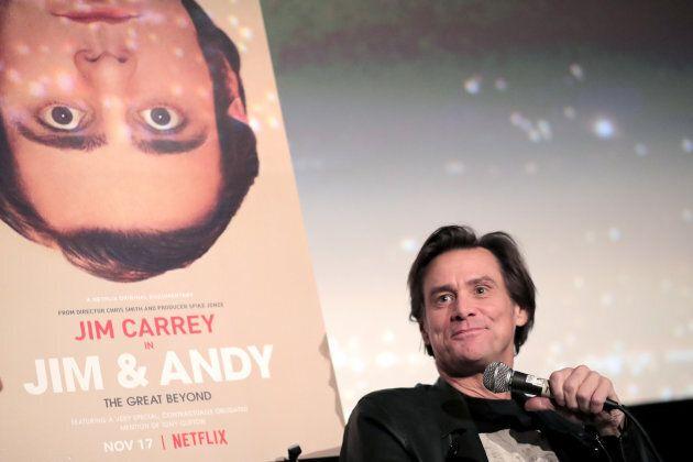 Canadian comedian and actor Jim Carrey.
