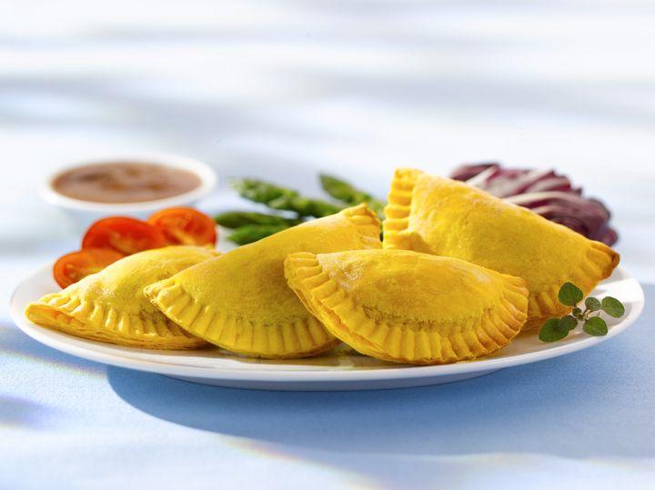 A Jamaican patty from Toronto's Patty Palace.