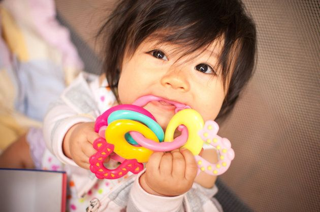The Government of Canada has restricted the use of six phthalates in children's toys and care items such as bath toys, baby bibs and teethers since 2010.