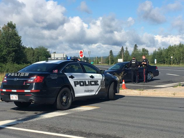 Police say one suspect is in custody after a shooting in the Brookside Drive area in Fredericton, N.B....