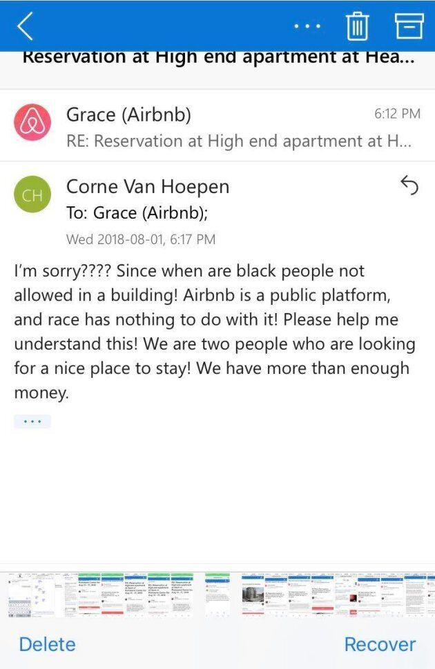 Van Hoepen's response to Grace.