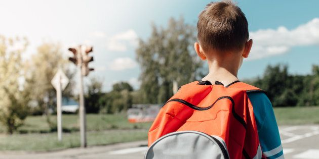 Starting a new school is nerve-wracking for most children.