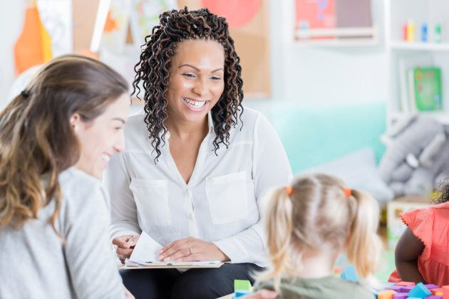 Try to arrange a meeting with your child and his or her new teacher before school