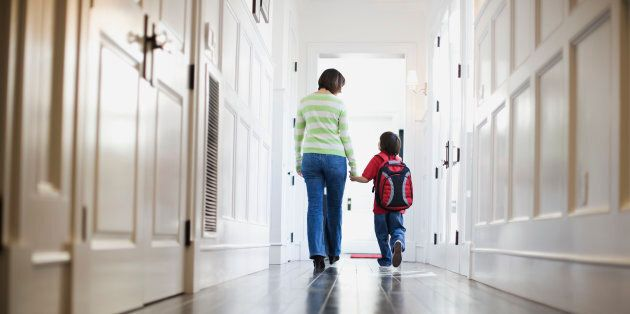 Take your child to their new school a week before school starts to familiarize them with their new surroundings.