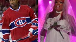 National Treasure Georges Laraque Wins Montreal Pride Drag