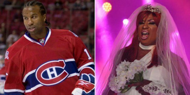 Georges Laraque, best known for being a former NHL enforcer, won a drag queen competition at Montreal...