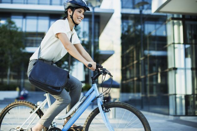 It's faster and cheaper than most other modes of transport. Biking to work