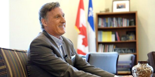 Conservative MP Maxime Bernier is shown in his office on Parliament Hill in Ottawa on Aug. 1,