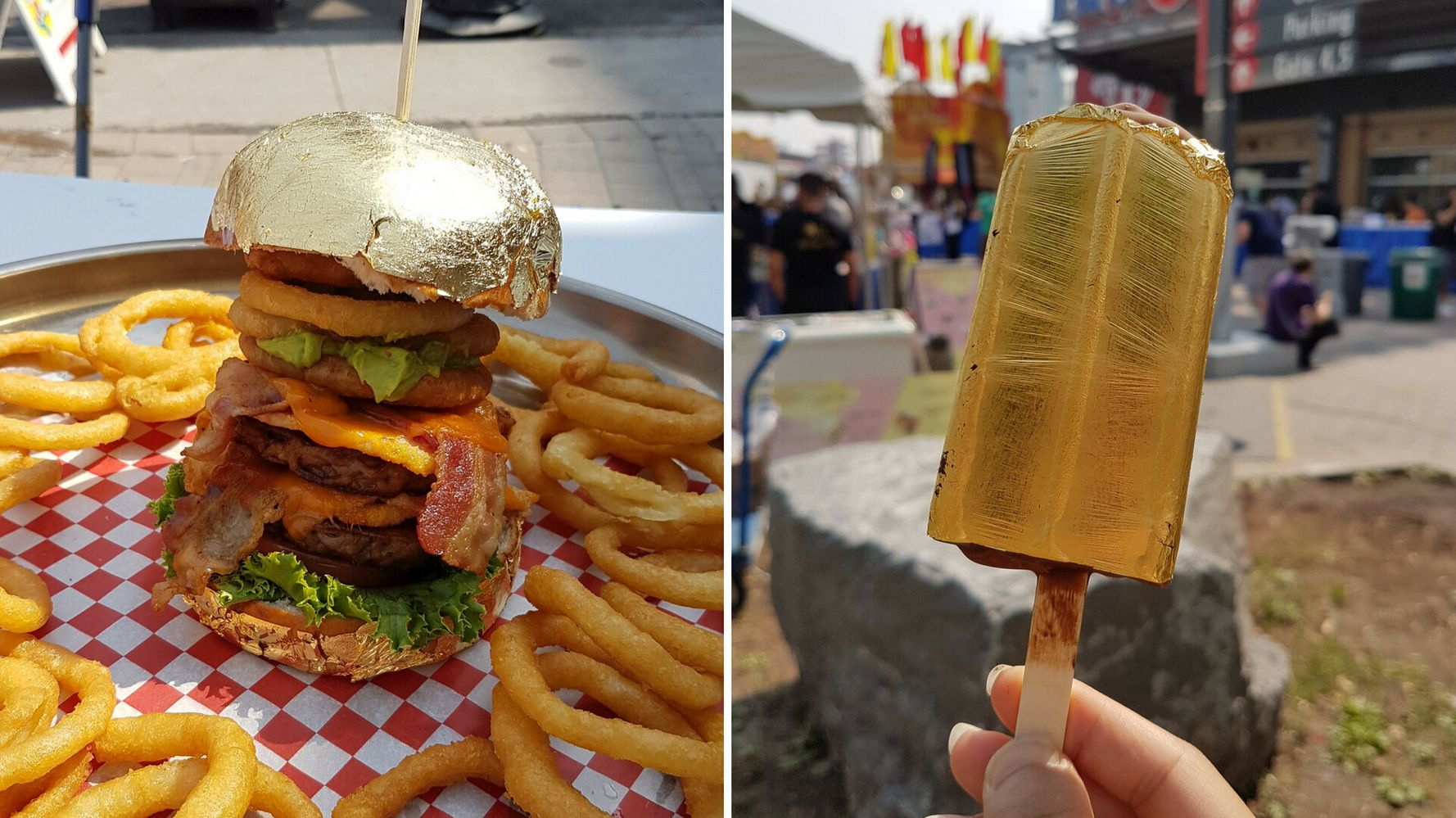 The CNE's 2018 Food Offerings Jump On The Edible Gold Trend